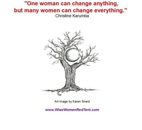 women can change everything