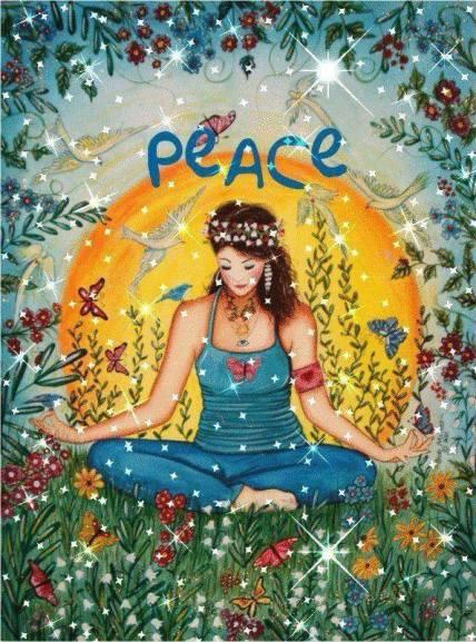 peace, lap